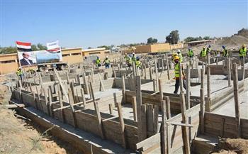 محافظ-الوادي-الجديد-يتفقد-قرى-مشروع-حياة-كريمة-بالفرافرة- -صور-