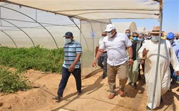 محافظ-الوادي-الجديد-يتفقد-مشروع-استثمار-زراعي-بقرية-الراشدة-بالداخلة- -صور-