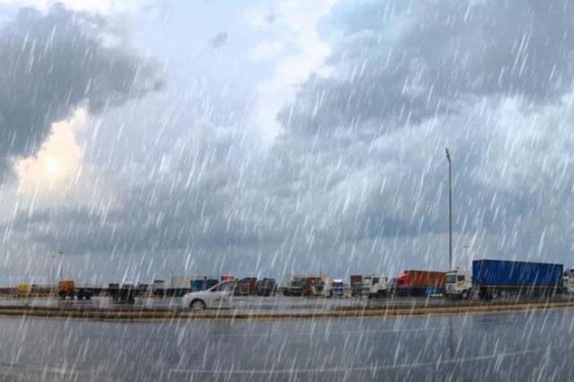 الأرصاد تحذر من أمطار غدًا على جنوب البلاد وسيناء