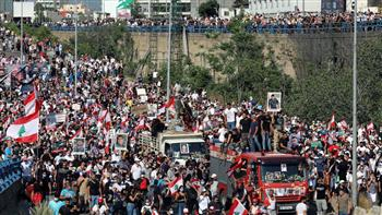 لبنان يشتعل فى ذكرى المرفأ.. ومحتجون يشتبكون مع الأمن أمام البرلمان لمحاولة دخوله