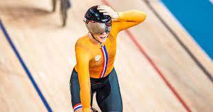 الهولندية-براسبينينكس-تتوج-بذهبية-سباق-كيرين-للدراجات-على-المضمار-بأولمبياد-طوكيو
