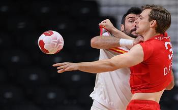 ;يد-الدنمارك;-يتقدم-على-إسبانيا--في-الشوط-الأول-بنصف-نهائي-أولمبياد-طوكيو