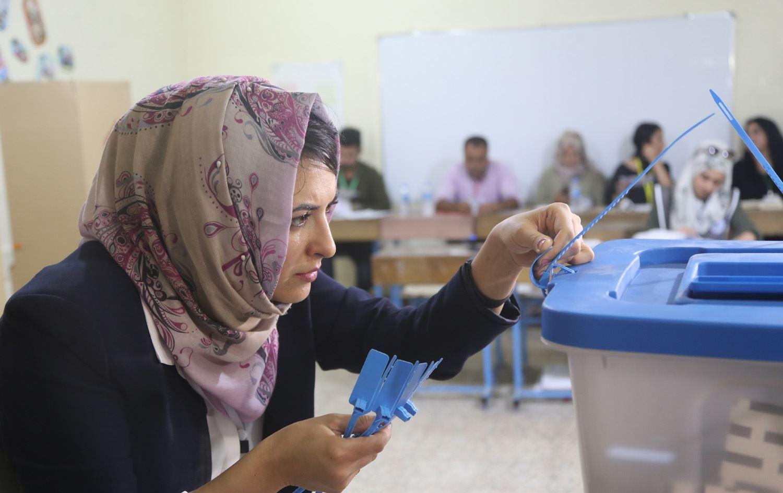 انتخابات العراق الغرامة والسجن لمن يصوت باسم آخر