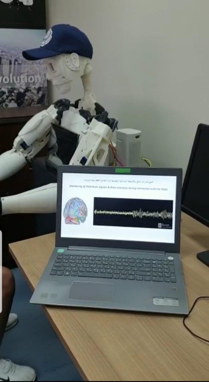 تصميم روبوت لتنمية مهارات أطفال مرض التوحد