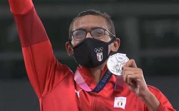 بطولات-وأرقام-أحمد-الجندي-يتوج-مسيرته-بفضية-أولمبية