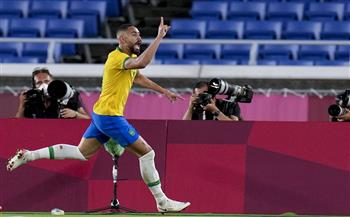 الشوط-الأول-البرازيل-تتقدم-على-إٍسبانيا-بهدف-;ماتيوس;-بنهائي-أولمبياد-طوكيو