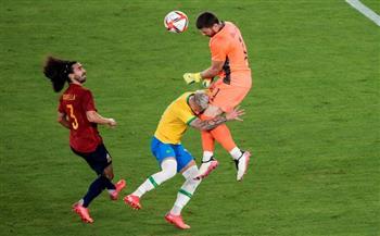 إسبانيا-تسجل-هدف-التعادل-في-شباك-البرازيل-بنهائي-أولمبياد-طوكيو