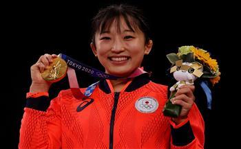 اليابانية-يوي-سوساكي-تحرز-ذهبية-المصارعة-وزن--كلج-بأولمبياد-طوكيو