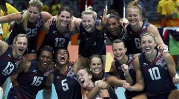 المنتخب-الأمريكي-يتوج-بذهبية-الكرة-الطائرة-للسيدات