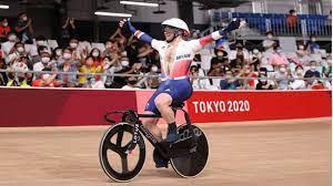 البريطاني-كيني-يتوج-بذهبية-سباق-كيرين-للدراجات-على-المضمار-بأولمبياد-طوكيو