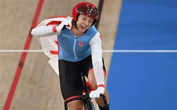 الكندية-ميتشيل-تتوج-بذهبية-سباق-السرعة-للدراجات-على-المضمار-بأولمبياد-طوكيو