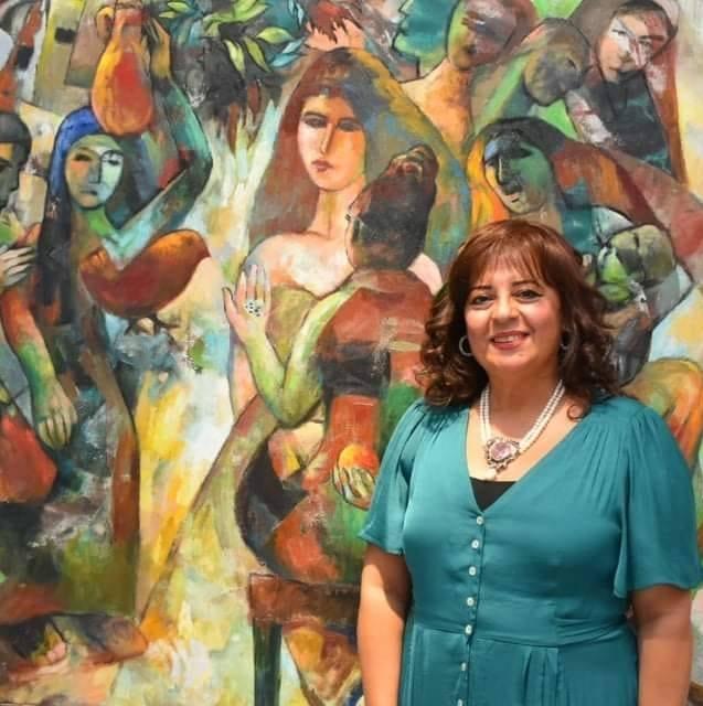 الفنانة إيمان حكيم
