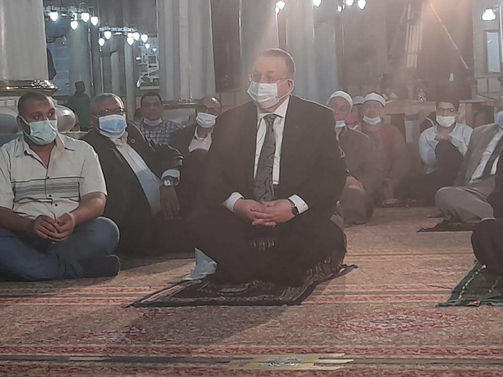 نقيب السادة الأشراف السيد محمود الشريف