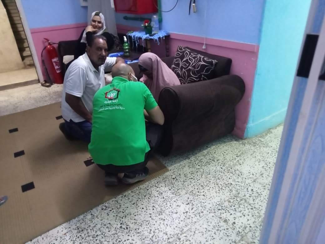 تفاصيل إنقاذ ;التضامن; لخمسة أطفال وكبار بلا مأوى  صور