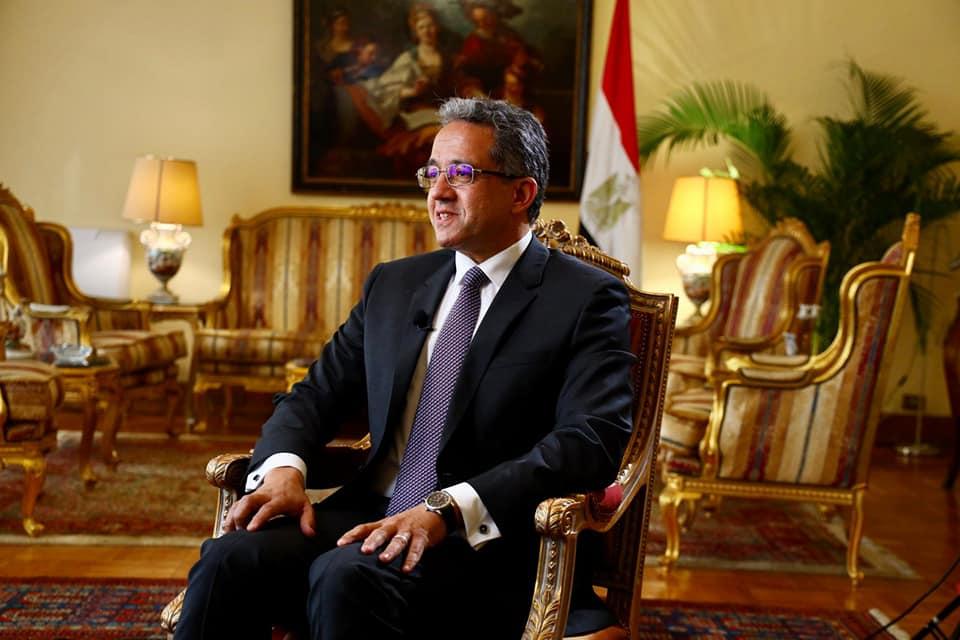 وزير السياحة والآثار الدولة المصرية تضع آثارها وتراثها نصب أعينها