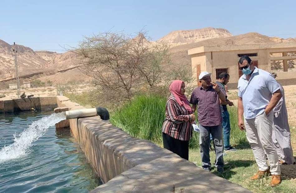 رئيس قطاع المياه الجوفية يتفقد جاهزية منشآت الحماية من السيول وحصاد مياه الأمطار في جنوب سيناء
