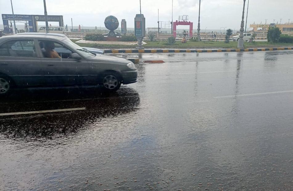 أمطار متوسطة