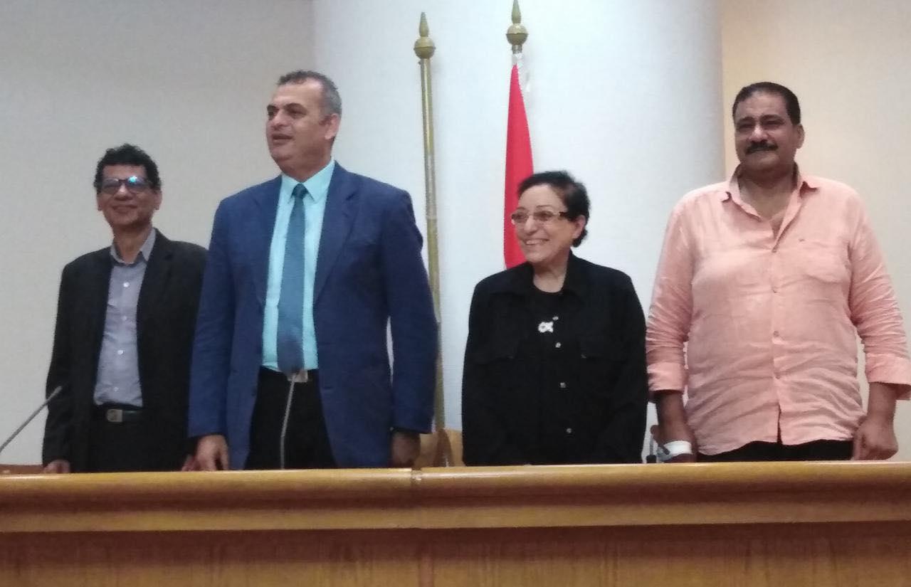 مؤتمر مهرجان أيام القاهرة الدولي للمونودراما