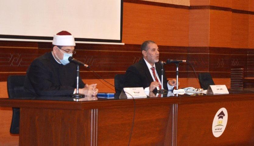 الدورة التدريبية الثانية المشتركة لأئمة ووعاظ مصر والسودان تعقد فعاليات يومها الثاني  صور