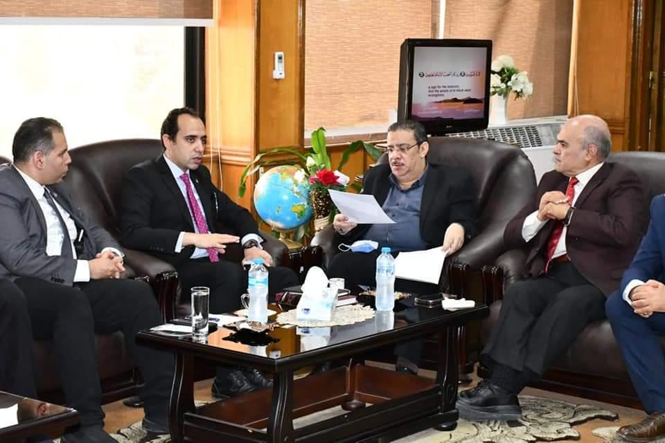تعاون مشترك بين جامعة قناة السويس والهيئة العامة للرعاية الصحية