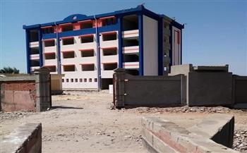 استكمال-عمليات-إنشاء-مدرسة-الشهيد-عبد-المنعم-عامر-الثانوية-بالوزارية-بالرياض-|-صور--
