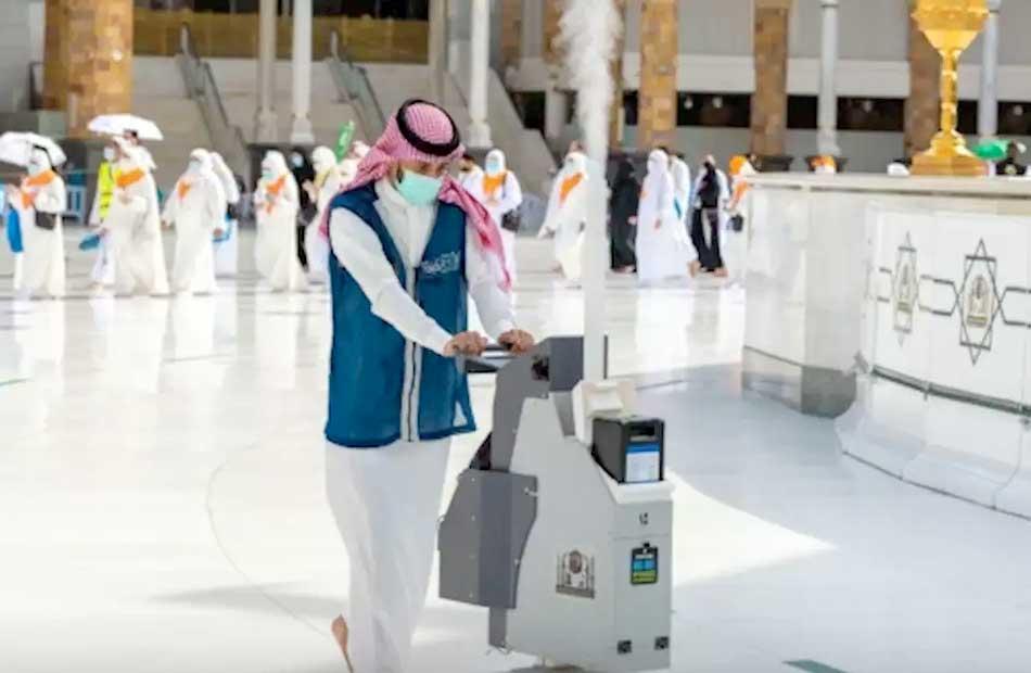 رئاسة الحرمين تكثّف جهودها للوقاية البيئيّة في خدمة المصلّين والمعتمرين