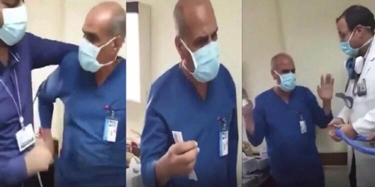 القبض على الطبيب الهارب صاحب واقعة إجبار ممرض على  الاعتذار للكلب