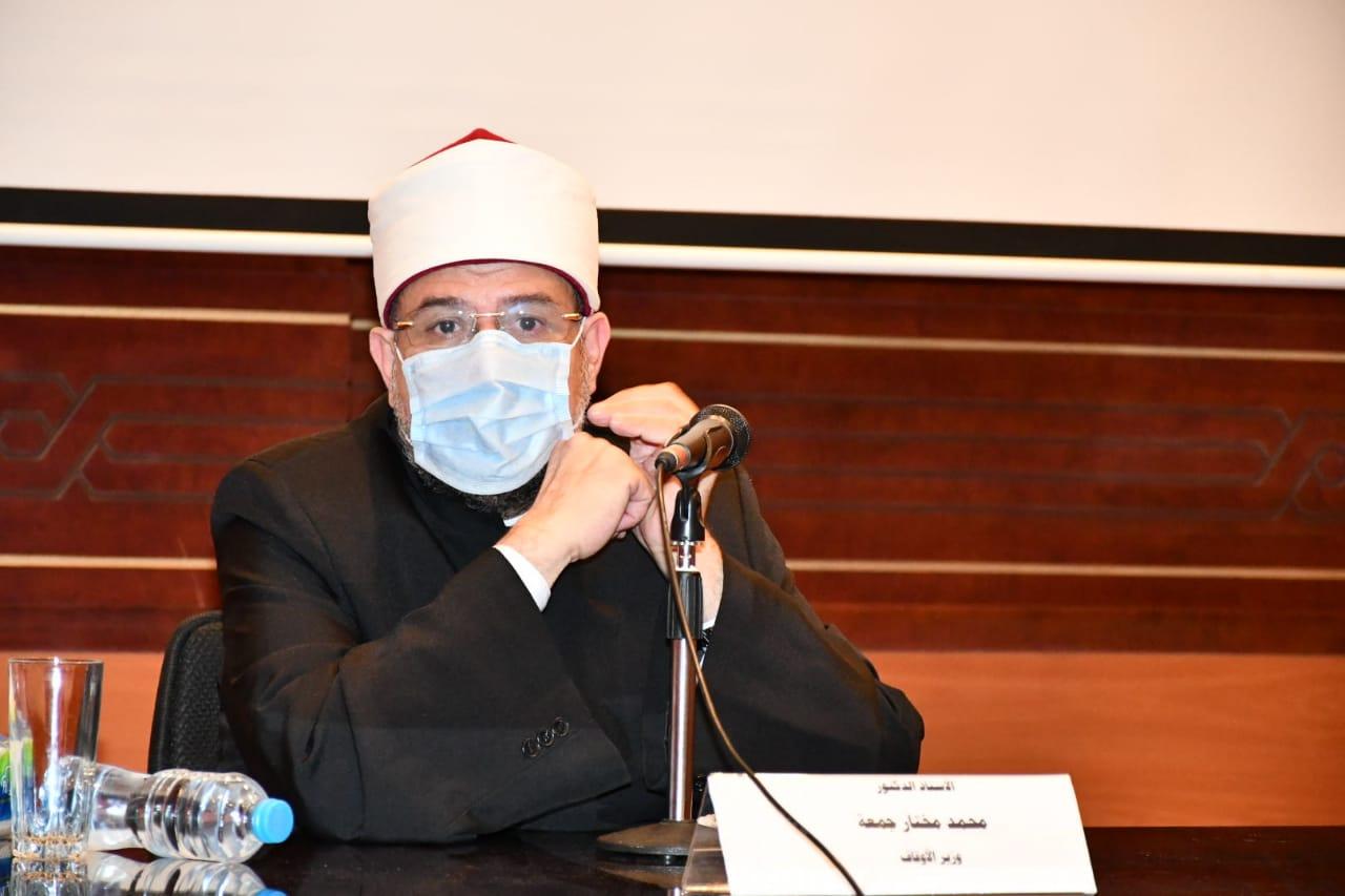 وزير الأوقاف نضع كل خبراتنا بمجالي الدعوة والتدريب في خدمة أشقائنا السودانيين|صور