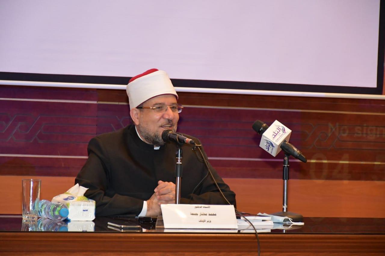 وزير الأوقاف يستعرض إصدارات الوزارة خلال افتتاح الدورة المشتركة بين مصر والسودان | صور