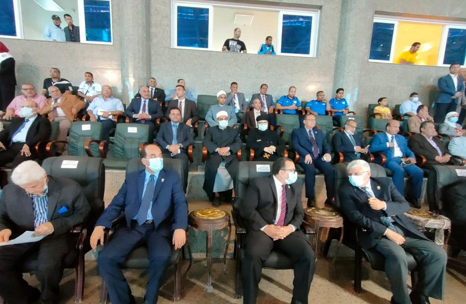 افتتاح ملتقى شباب جامعات المحافظات الحدودية بالعريش   صور