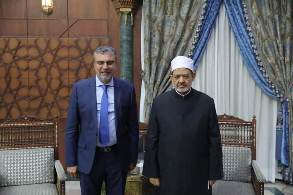 شيخ الأزهر يستقبل رئيس اتحاد الإذاعات الإسلامية  صور