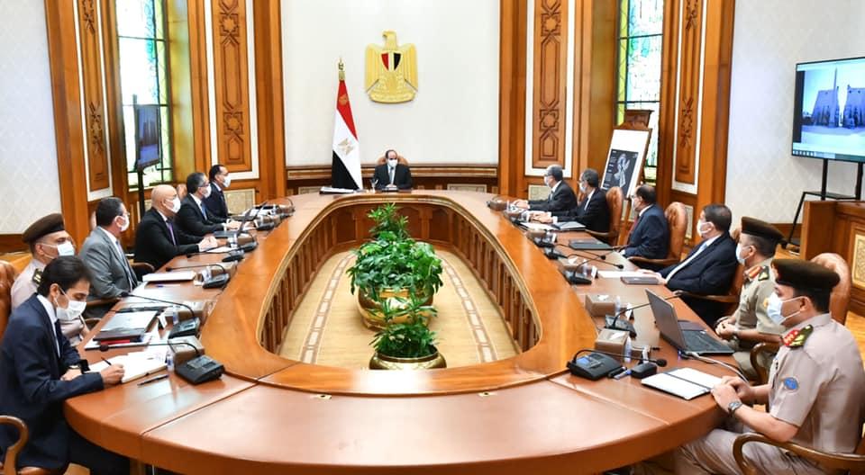 الرئيس السيسي يوجه بمراعاة خروج تجهيزات المتحف المصري الكبير على أكمل وجه