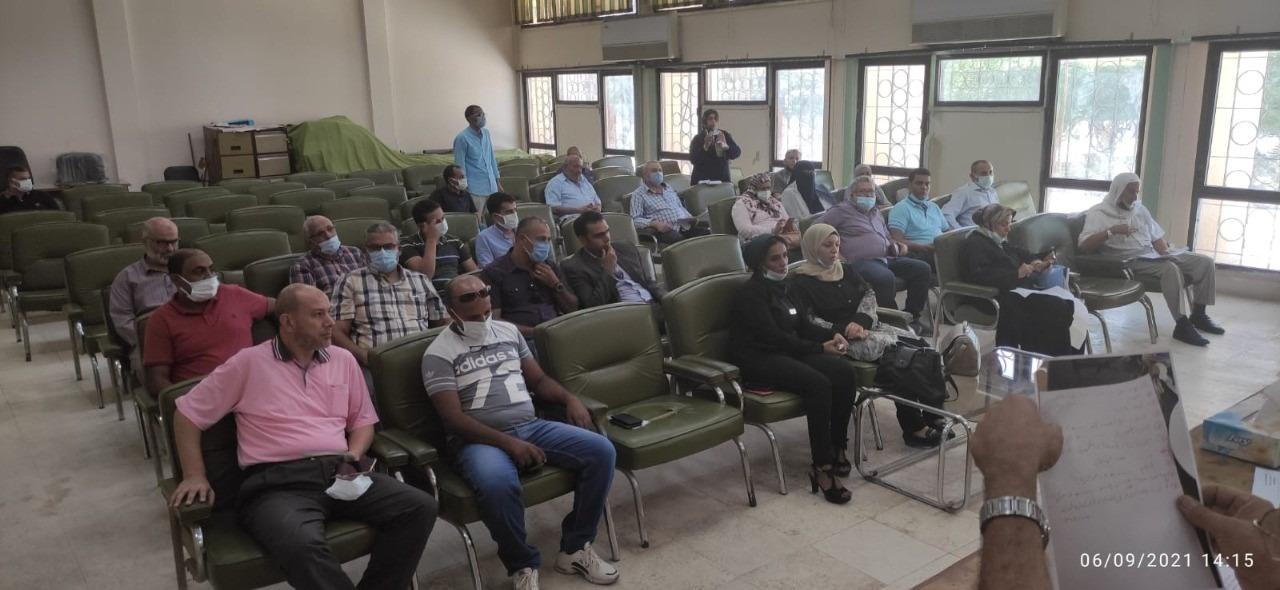 رئيس جهاز  برج العرب الجديدة  يلتقي سكان المدينة لبحث مقترحاتهم وشكاواهم