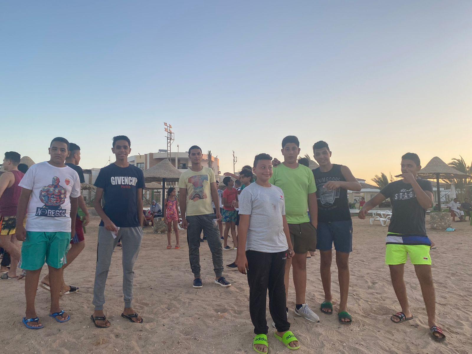 معسكر الطلائع للمحافظات بمدينة الغردقة