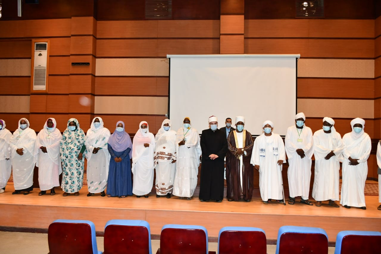 الدورة التدريبية الثانية المشتركة لأئمة وواعظات مصر والسودان