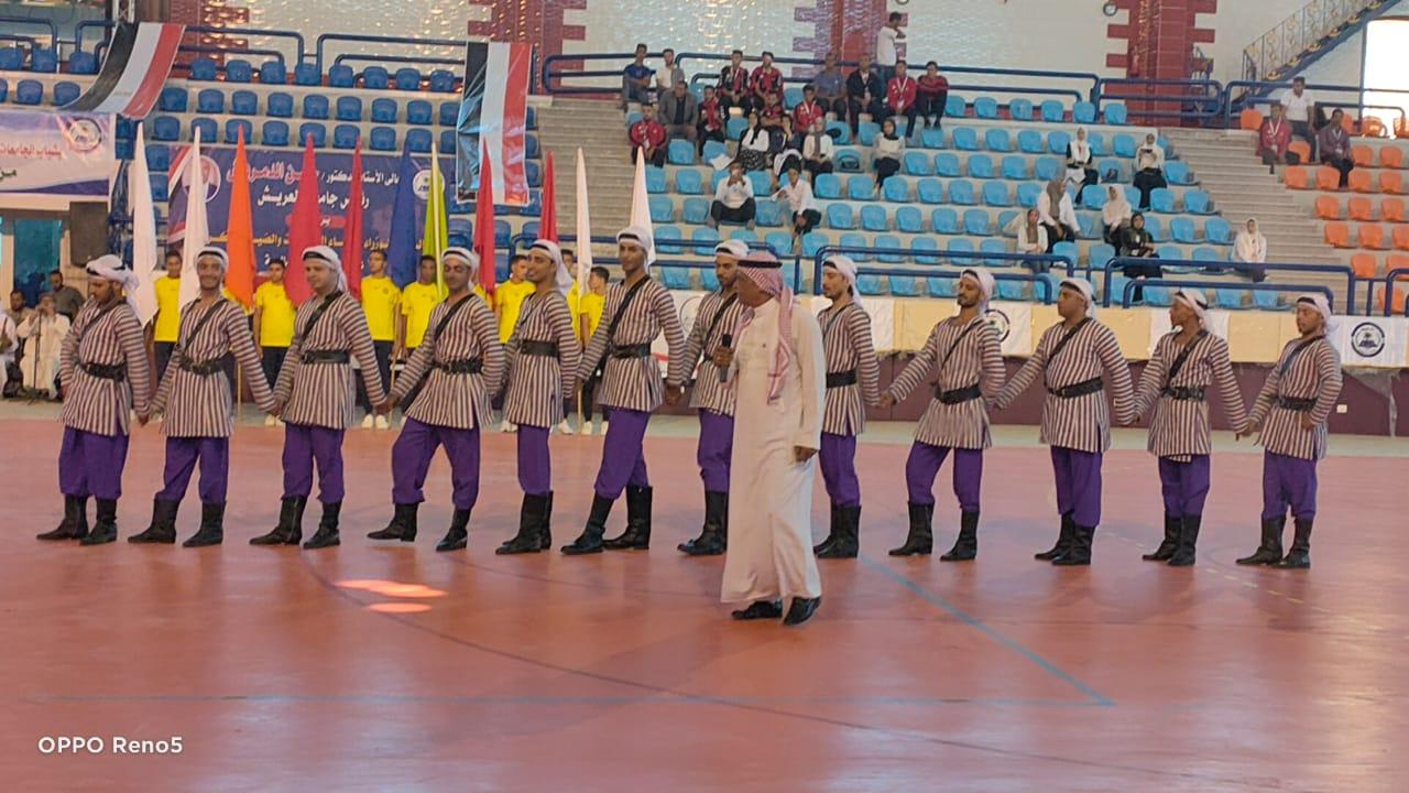 ملتقى شباب جامعات المحافظات الحدودية بالعريش