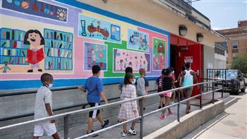 بين الخوف والارتياح مدينة نيويورك تعيد فتح مدارسها