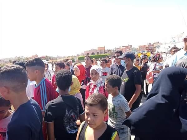 فعاليات اليوم الثالث للمعسكرات الصيفية لطلائع الجمهورية بمدينة الغردقة