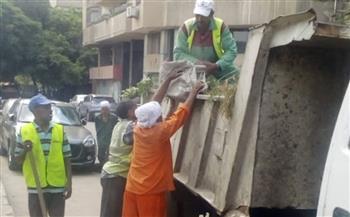 أخبار-القاهرة-حملة-للنظافة-والتجميل-في-حي-الأزبكية--