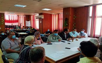 اجتماع-بصحة-كفر-الشيخ-لتطبيق-معايير-مكافحة-العدوى-بمستشفيات-المحافظة-|-صور--
