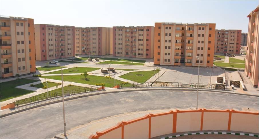 الجزار تنفيذ  وحدة سكنية متنوعة وعدة مشروعات خدمية بالعبور الجديدة| صور