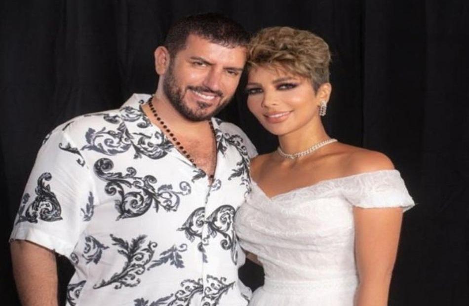 أصالة تعلن زواجها من الشاعر العراقي فائق حسن  صور