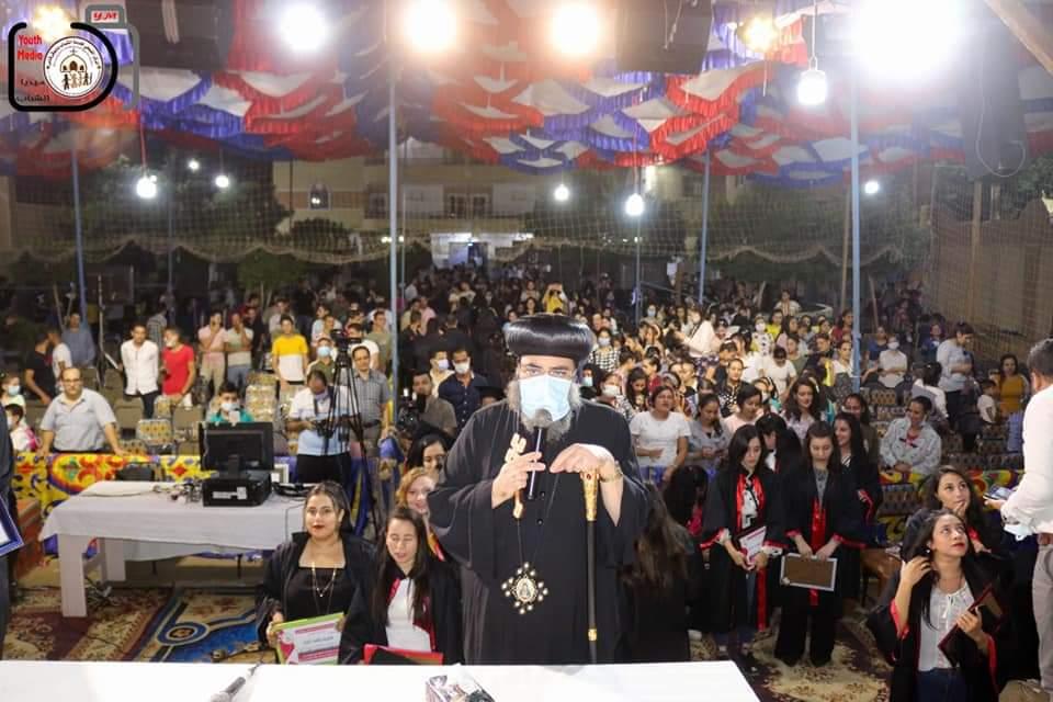 الكنيسة تنظم مؤتمرا حول النجاح في حياة الشباب |صور