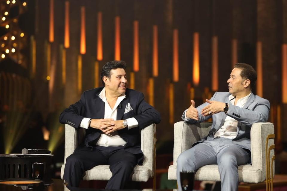 هاني شاكر ومدحت صالح في ضيافة برنامج  سهرانين    صور