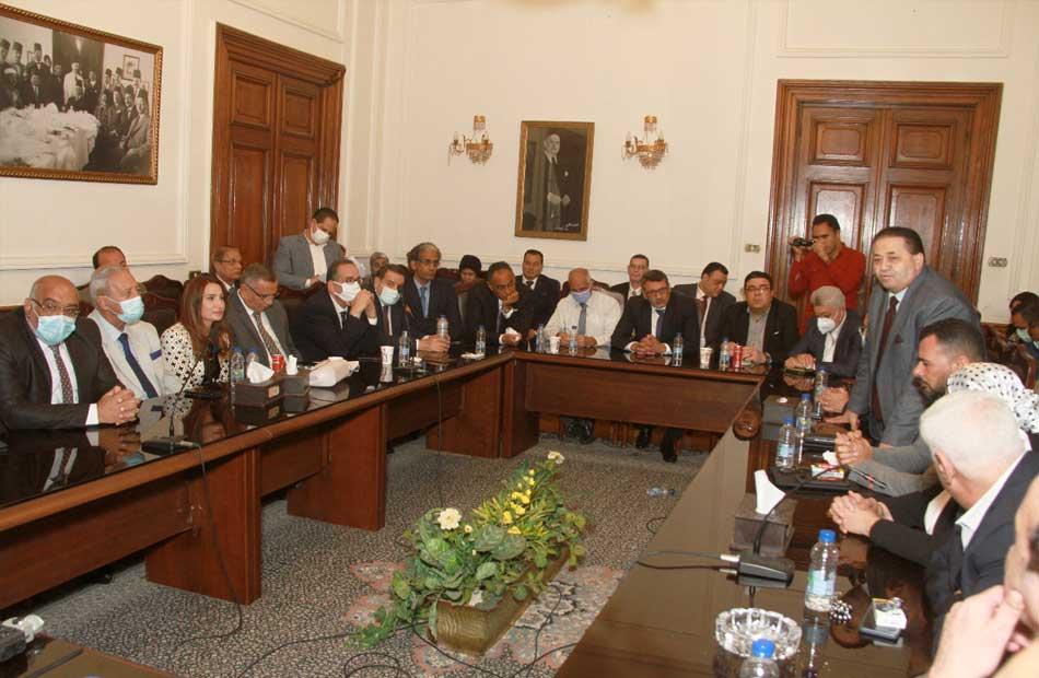 هاني أباظة تشكيل لجنة للشئون البرلمانية لحزب الوفد