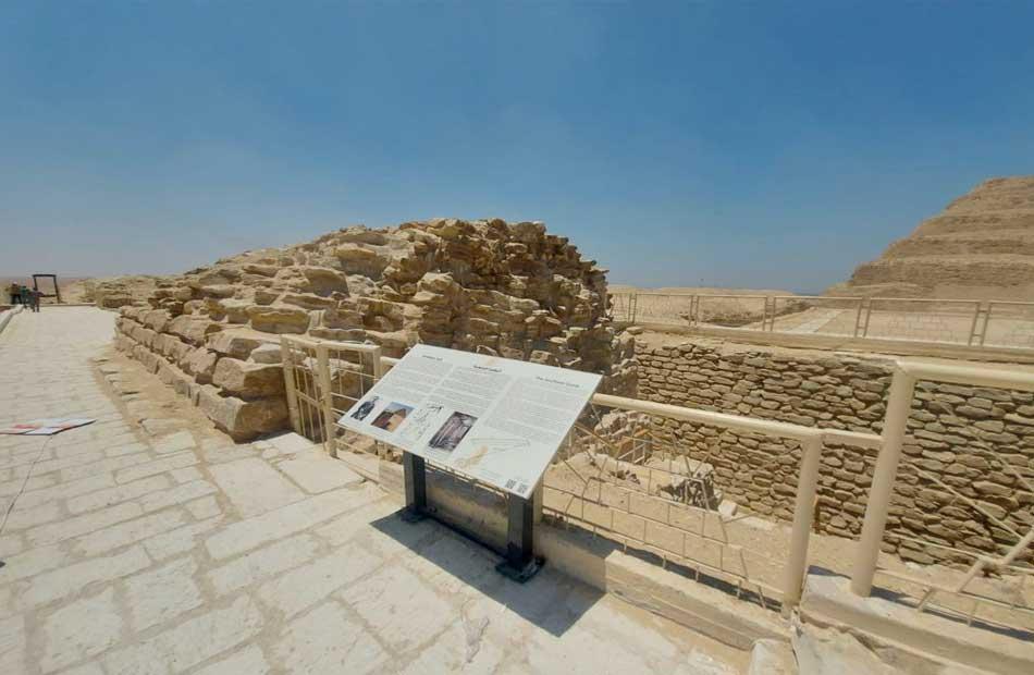 تفاصيل افتتاح مشروع ترميم المقبرة الجنوبية للملك زوسر بمنطقة آثار سقارة|صور