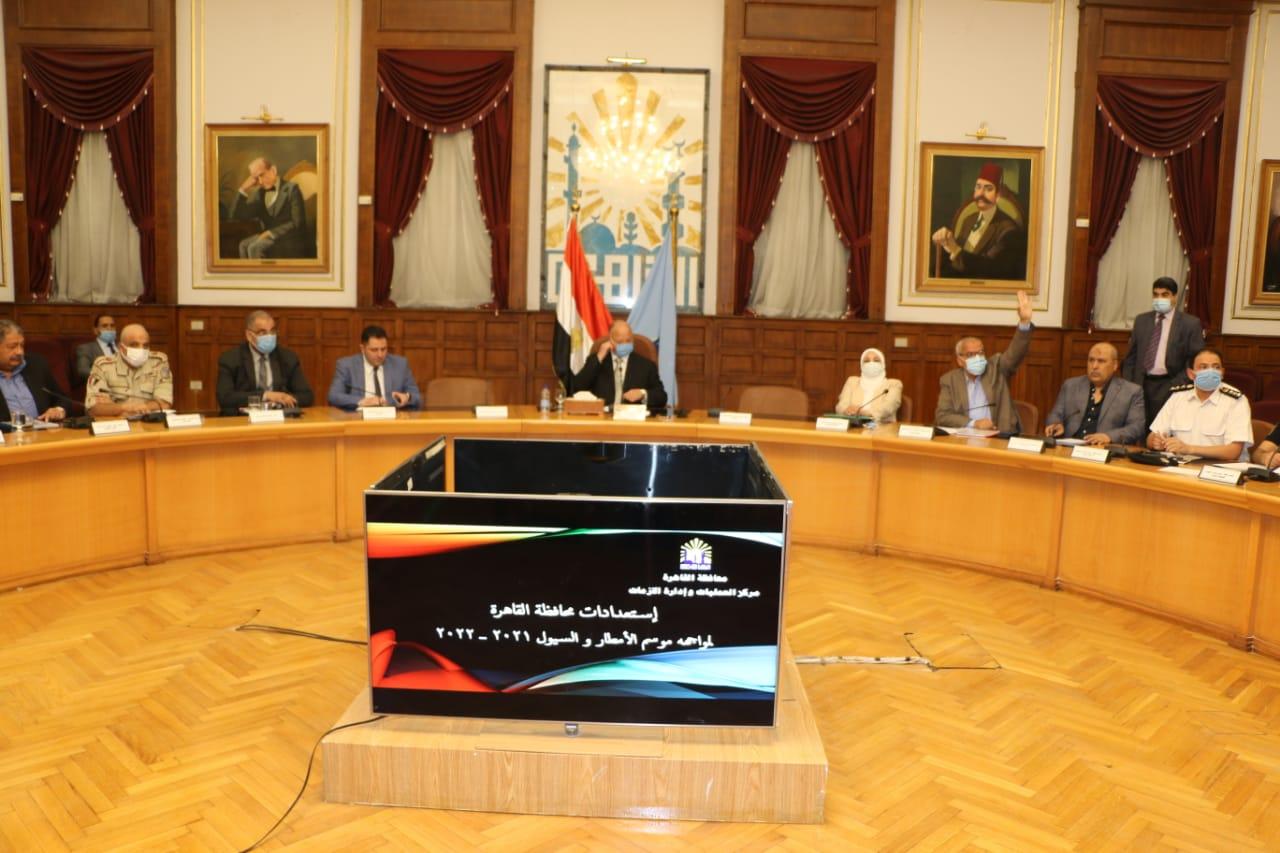 اجتماع محافظ القاهرة