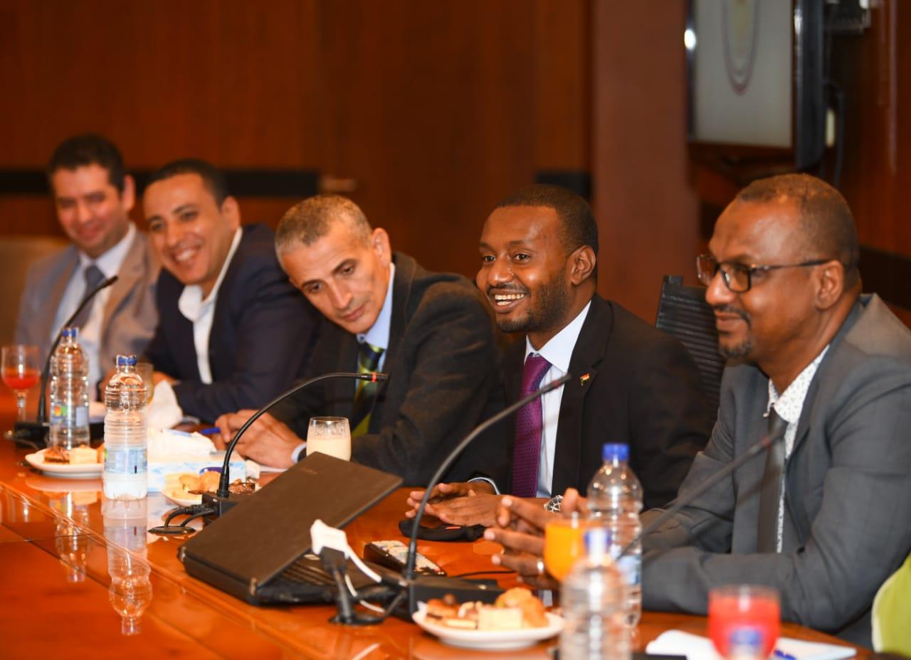 اجتماع وزيرة الدولة للهجرة وشئون المصريين بالخارج مع المفوضية القومية لحقوق الإنسان بدولة السودان