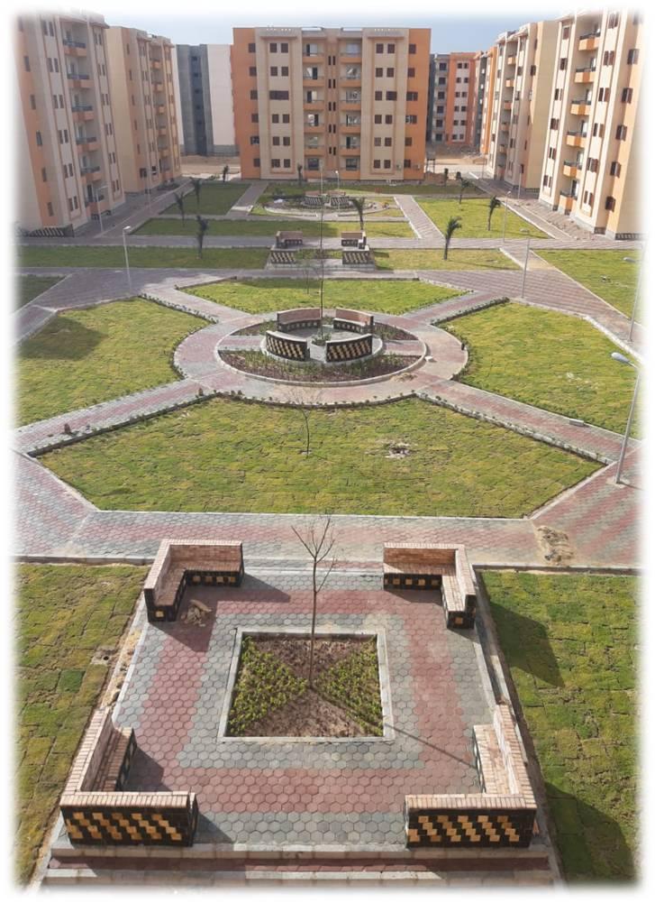 وحدات سكنية متنوعة وعدة مشروعات خدمية بالعبور الجديدة