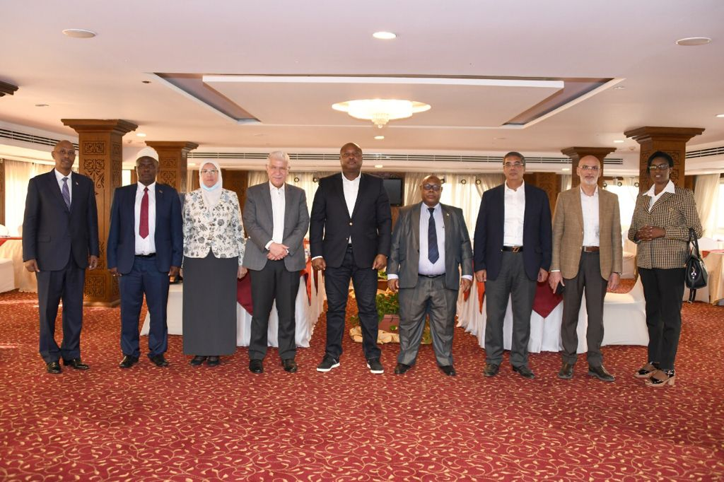 زيارة وزير خارجية بوروندى لمصر